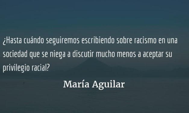 Retratando a la Guatemala racista a través de la moda. María Aguilar.
