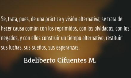 Archivos, historia, memoria, lucha social y reconciliación. Edeliberto Cifuentes M.