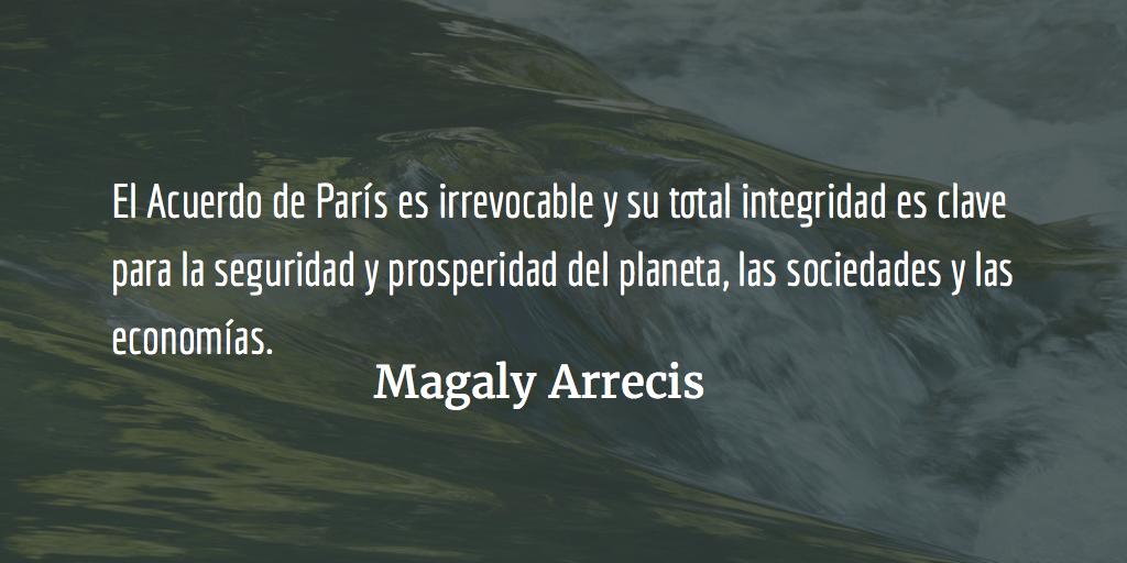 Cambio climático y Objetivos deDesarrollo Sostenible en Guatemala. Magaly Arrecis.