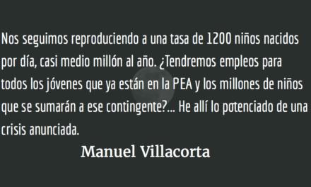 Trágica caída de la economía nacional. Manuel Villacorta.