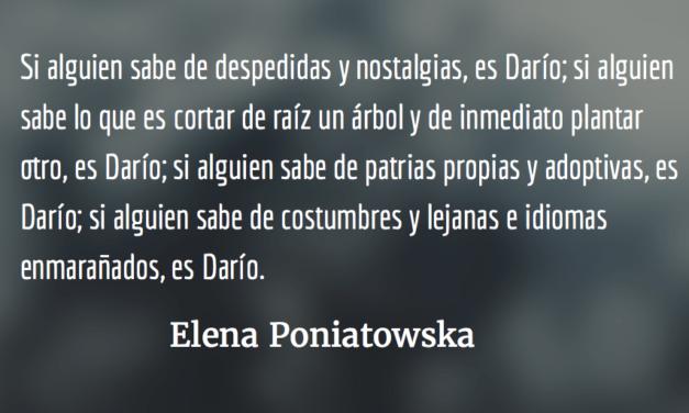 Rubén Darío:el judío errante de La Nación. Elena Poniatowska.