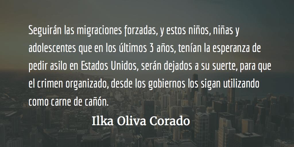 Niños, niñas y adolescentes migrantes: carne decañón. Ilka Oliva Corado.
