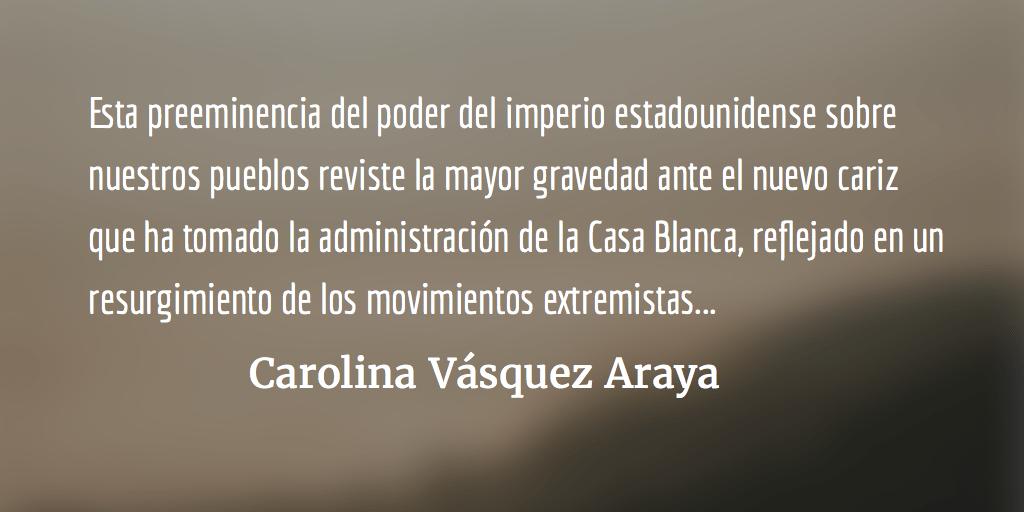 El recurso fácil de latiranía. Carolina Vásquez Araya.