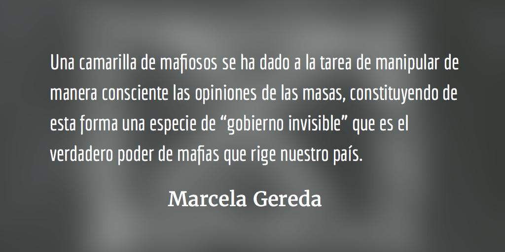 El jugoso negocio de la política. Marcela Gereda.
