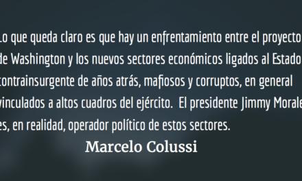 Crisis palaciega en Guatemala. Marcelo Colussi.