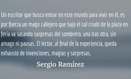 Un mago de feria. Sergio Ramírez.