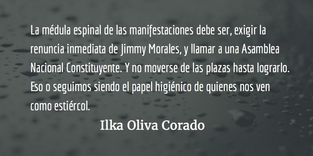 Jimmy, no grato. Ilka Oliva Corado.