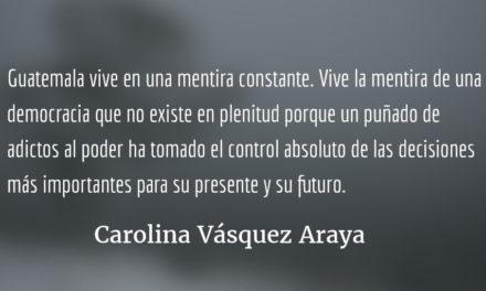 Bajo la sombra de la mentira. Carolina Vásquez Araya.