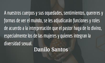 Tu cuerpo les pertenece. Danilo Santos.