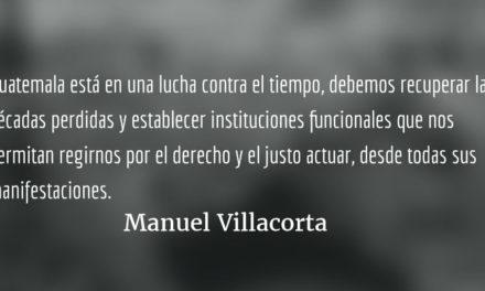 MP/Cicig: lo que todos esperamos. Manuel Villacorta.