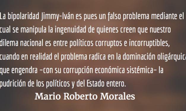 Partir las aguas. Mario Roberto Morales.