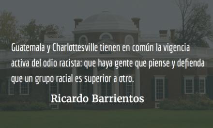 Charlottesville: ¿tan guatemalteca como tú? Ricardo Barrientos