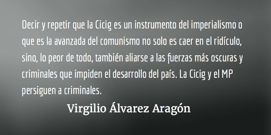 Con el agua hasta el cuello y sin saber nadar. Virgilio Álvarez Aragón.