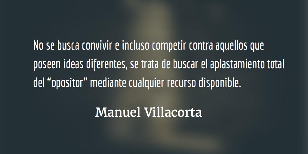 Grupo semilla: ¿enfrentar a los extremos? Manuel Villacorta