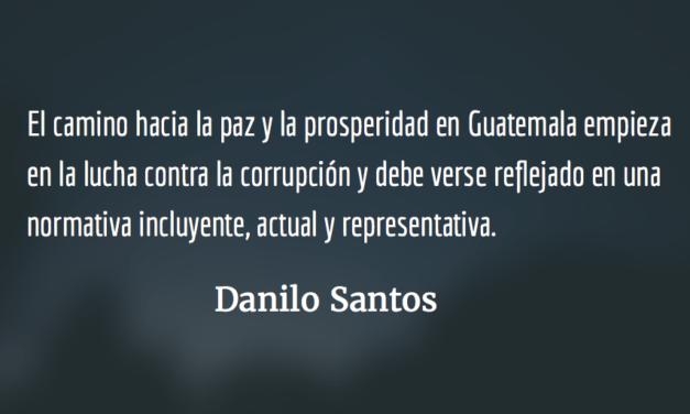"""Mein Kampf"" por Jimmy Morales. Danilo Santos."