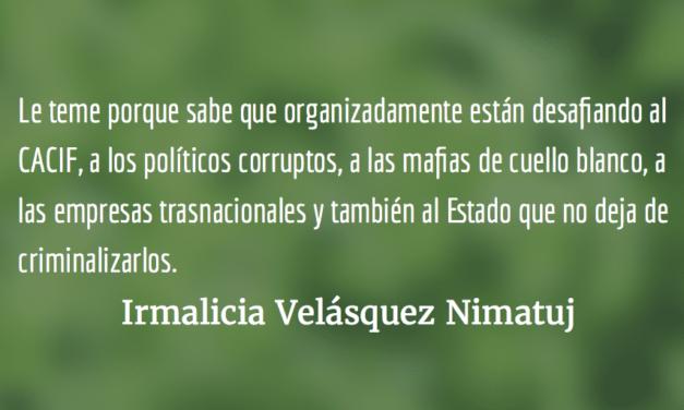 ¿Por qué el CACIF le teme a CODECA? Irmalicia Velásquez Nimatuj