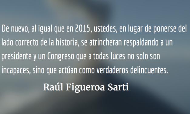 Carta abierta al Directorio del Cacif. Raúl Figueroa Sarti.
