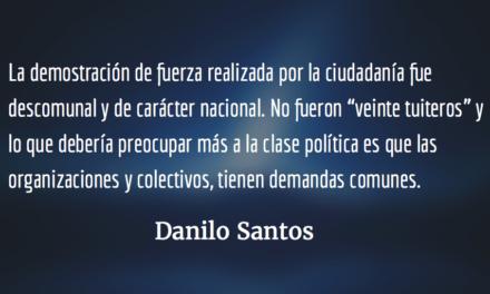 Hora de rebuznar. Danilo Santos.