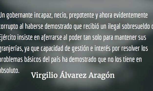 Cuando despertamos, la corrupción sigue allí. Virgilio Álvarez Aragón.