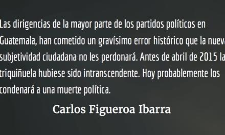 La CICIG y la nueva subjetividad ciudadana. Carlos Figueroa Ibarra.