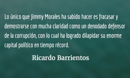 Jimmy ganó inmunidad, pero no impunidad. Ricardo Barrientos.