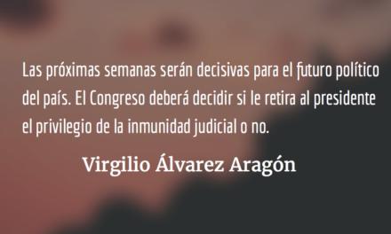 El camino del presidente a los tribunales. Virgilio Álvarez Aragón.