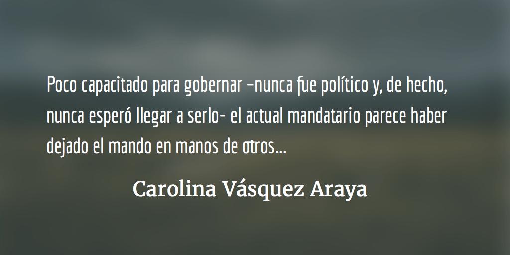Un golpe mal calculado. Carolina Vásquez Araya.