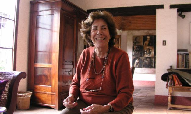 He conocido a muchas personas fascinantes, pocas como María Cristina Orive. Carolina Vásquez Araya.