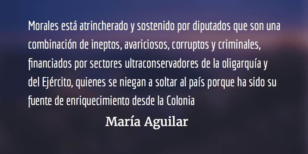 ¡Jimmy Morales, no es el Presidente de Guatemala! María Aguilar