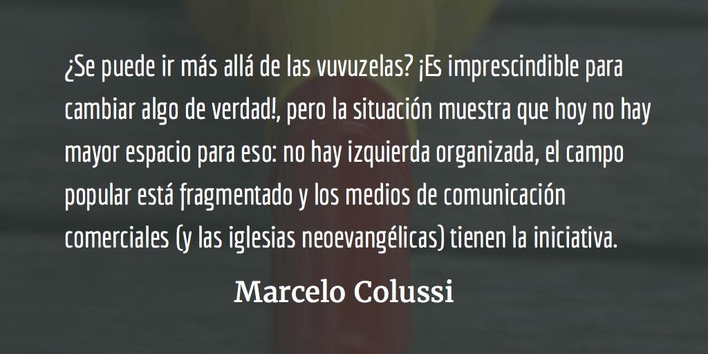 Guatemala: ¿Cómo hacer para ir más allá de las vuvuzelas?  Marcelo Colussi
