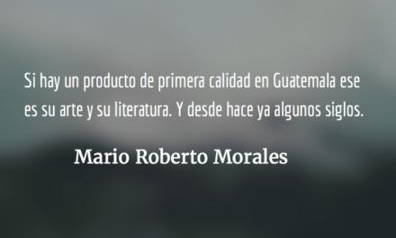 Nuestro arte en Estados Unidos. Mario Roberto Morales.