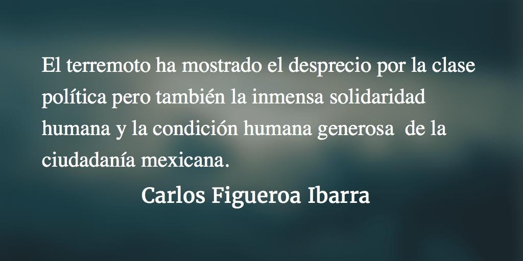 Solidaridad y condición humana. Carlos Figueroa Ibarra.