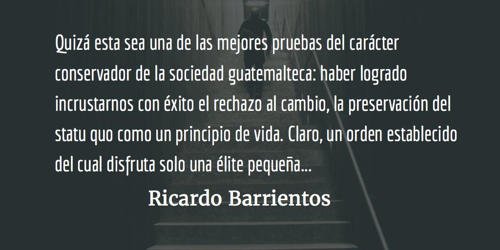 Estabilidad versus reforma estructural. Ricardo Barrientos.