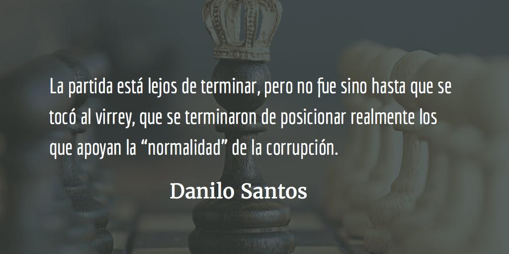 Guerra, paz y justicia. Danilo Santos.