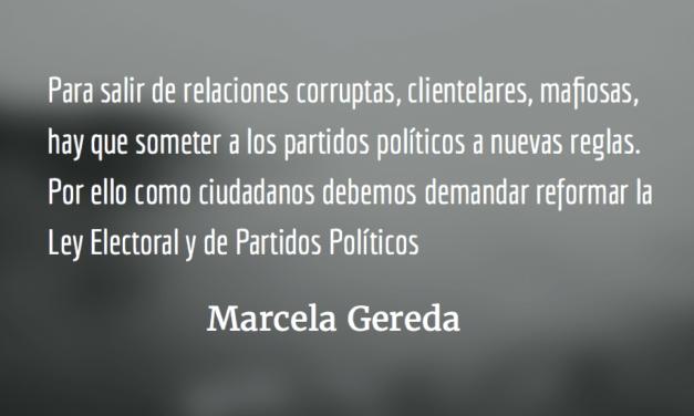 Carrera contra el tiempo. Marcela Gereda.