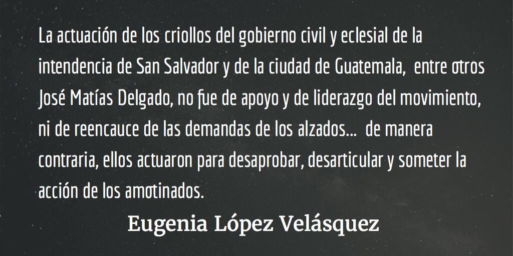 """El mito del """"primer grito de Independencia"""". Eugenia López Velásquez."""