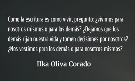 Aprender a escribir. Ilka Oliva Corado.