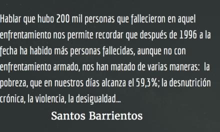 Las dos Guatemalas. Santos Barrientos.