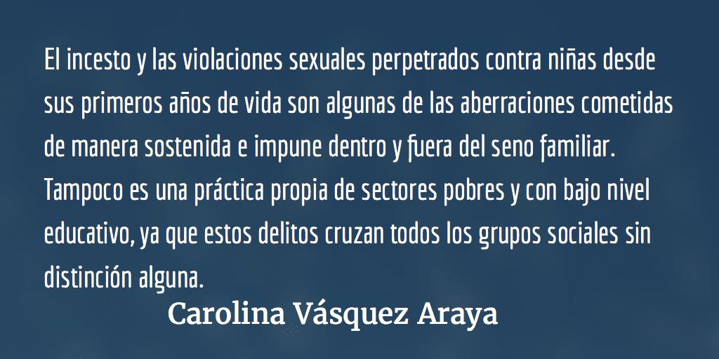 Ese cuerpo no tepertenece. Carolina Vásquez Araya.