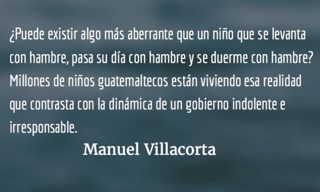 La pobreza mata: ¿y a quién le importa? Manuel Villacorta