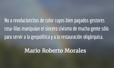 Un instrumento político soberano. Mario Roberto Morales.