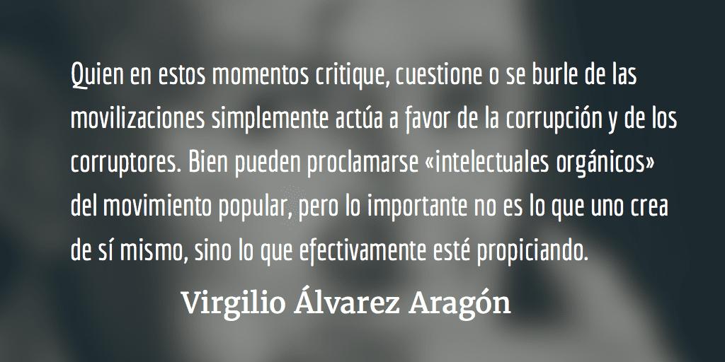 El fraude del diálogo. Virgilio Álvarez Aragón.