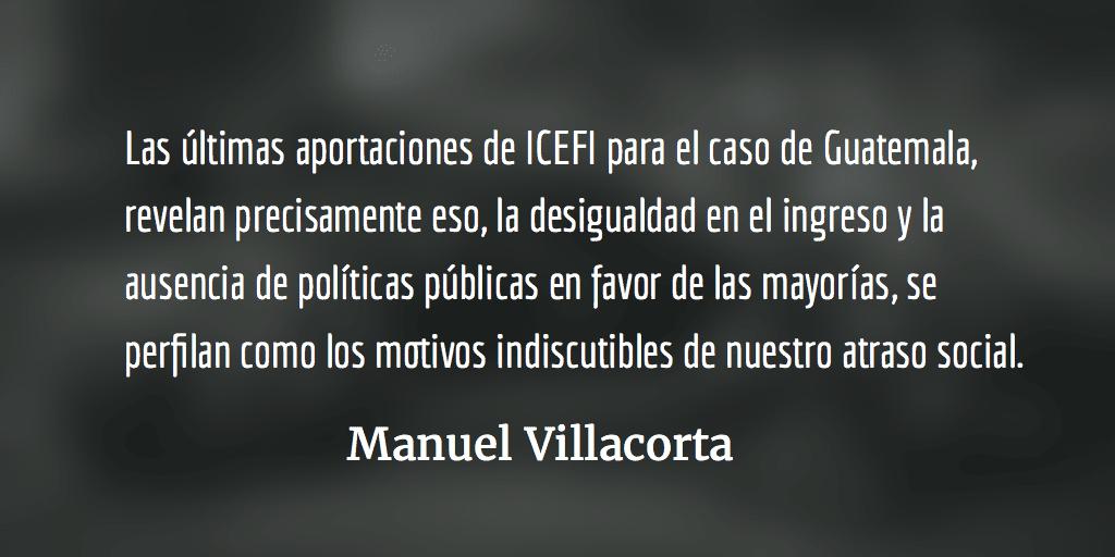 Política pública: lo que la derecha no ve. Manuel Villacorta.