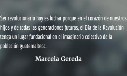 Ser revolucionario hoy. Marcela Gereda.