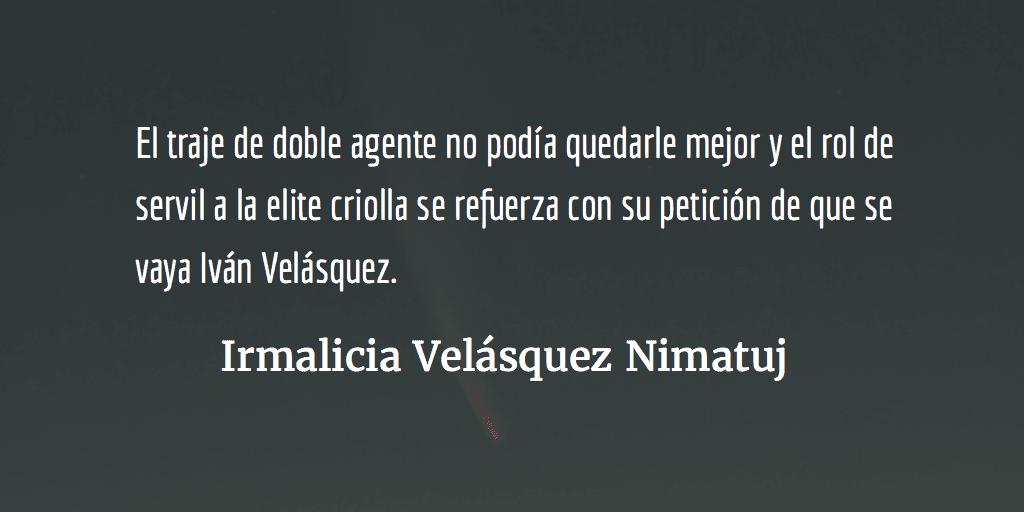 Gustavo Porras: el servil defensor de los criollos. Irmalicia Velásquez Nimatuj.