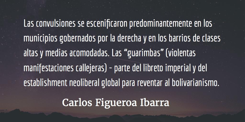 Venezuela, sabor a victoria. Carlos Figueroa Ibarra.