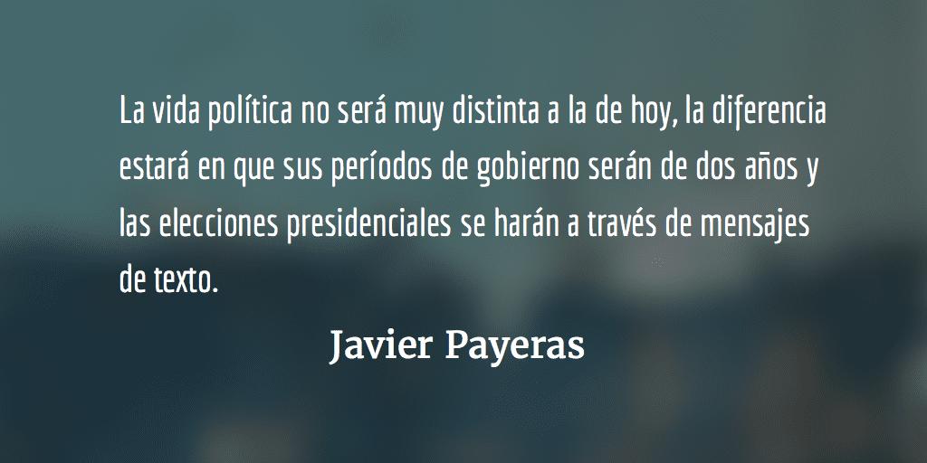Clase media 2020. Javier Payeras.