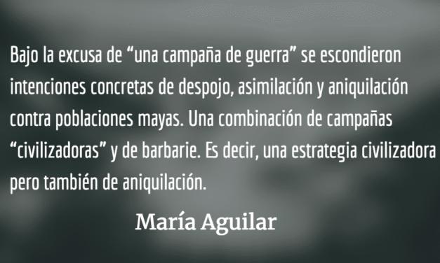 Buscando paz en la impunidad II. María Aguilar.