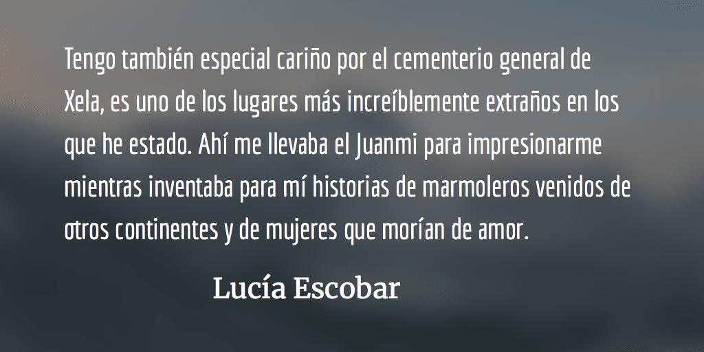 Casa de muertos. Lucía Escobar.