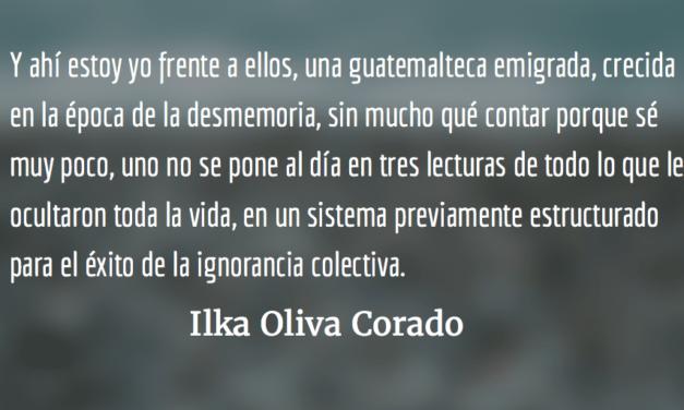 El encanto delChe. Ilka Oliva Corado.